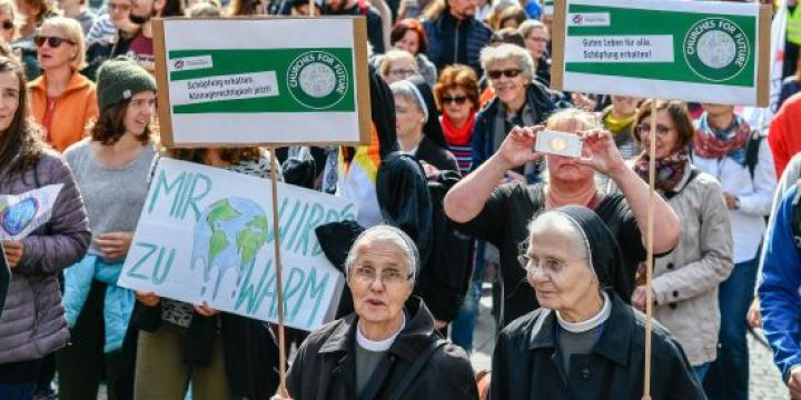 Unterfrankens Pressebild des Jahres 2019: Klimademo
