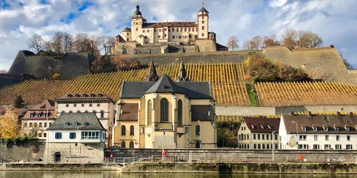 Würzburger Festung im Herbst 2018